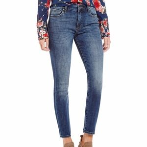 Kut From The Kloth High Rise Skinny Dark Jeans